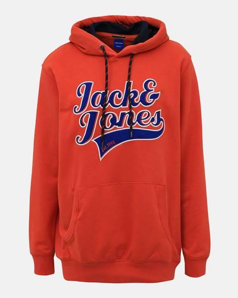 Červená mikina Jack & Jones