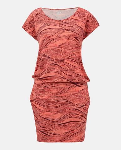 Koralové šaty hannah