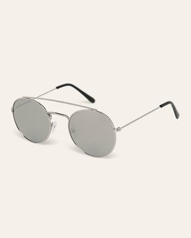 Strieborné okuliare Answear
