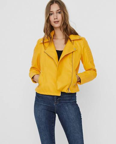 Žltá bunda Noisy May