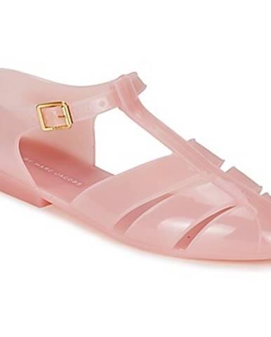 Ružové sandále Marc by Marc Jacobs