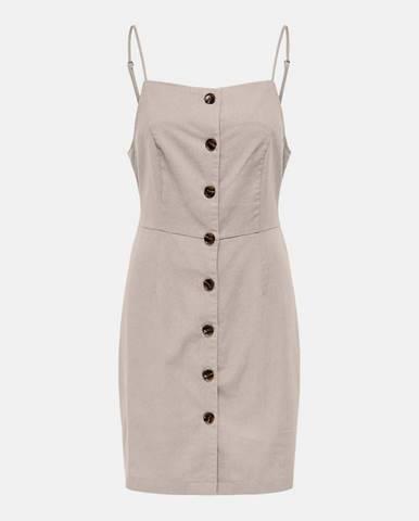 Béžové šaty Only