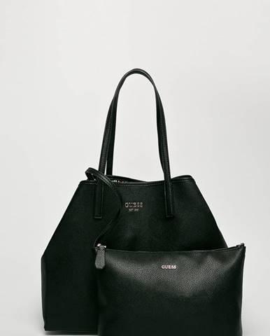 Čierna kabelka Guess Jeans