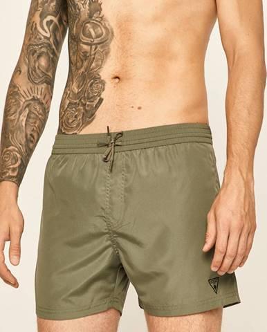 Zelené plavky Guess Jeans