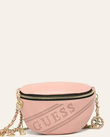 Ružová kabelka Guess Jeans
