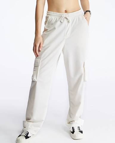 Biele nohavice adidas Originals
