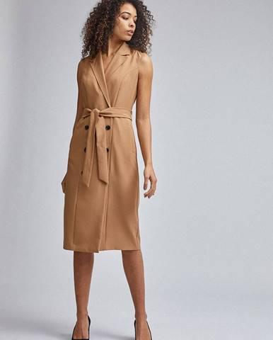 Svetlohnedé šaty Dorothy Perkins Tall